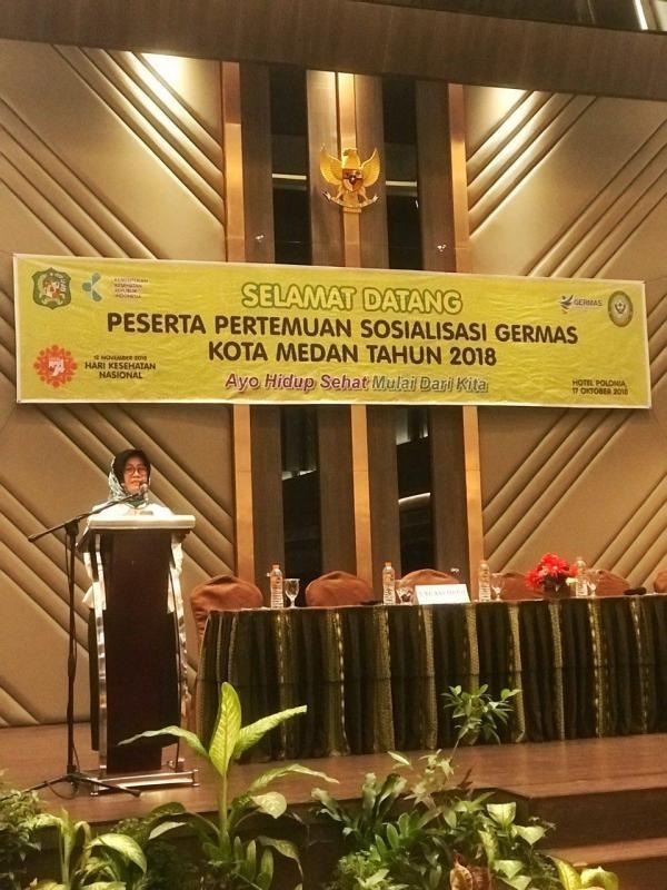 Sosialisasi GERMAS Kota Medan 2018